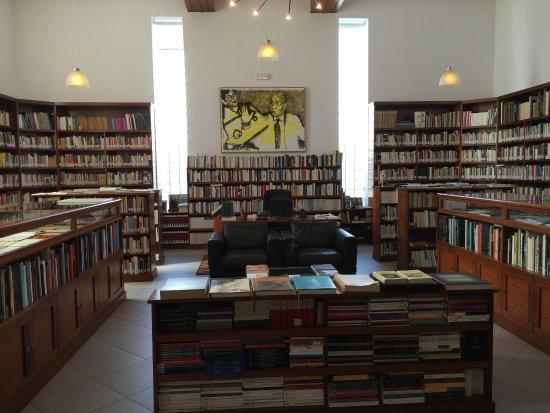 Casa Jose Saramago: La biblioteca