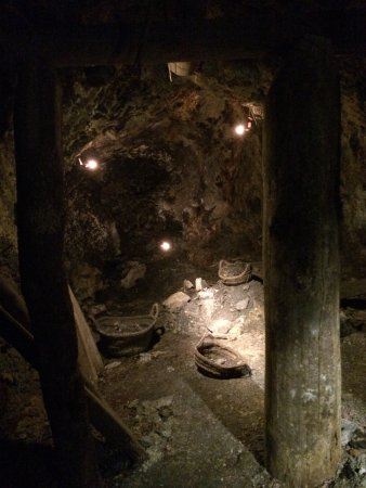 Almaden, Spain: Galerías de la mina