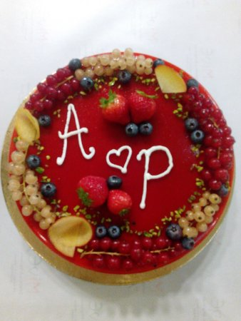 Mivé Gelateria : Torta gelato romantica
