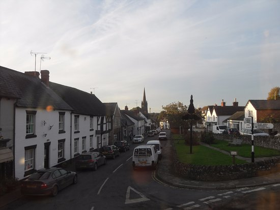 Weobley, UK: View from twin room