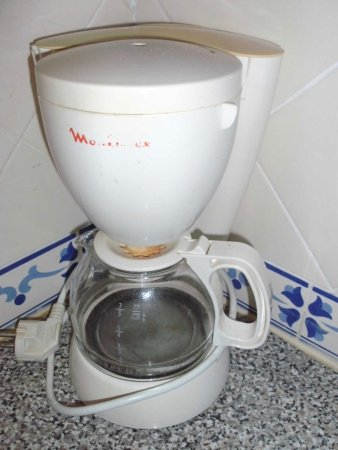 Luna Clube Oceano: Old coffee maker from the 70's.....