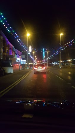 Blackpool Illuminations: bulbs and even more bulbs.......