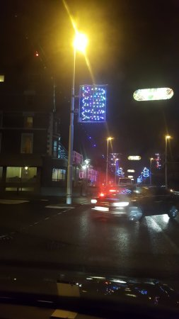 Blackpool Illuminations: no ornamental lights anywhere! lots of bulbs