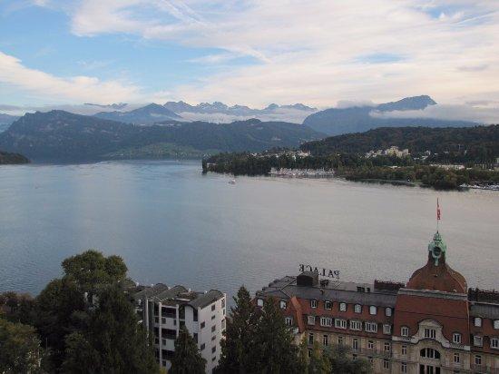Art Deco Hotel Montana Luzern Resmi
