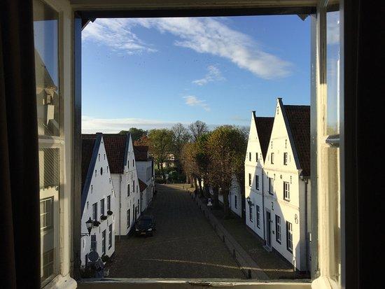 La Ville Blanche Room View Right - Picture of Fletcher Hotel ...