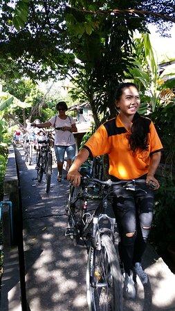 Recreational Bangkok Biking : One of the guides