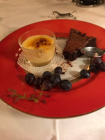 Valframbert, Γαλλία: pudding