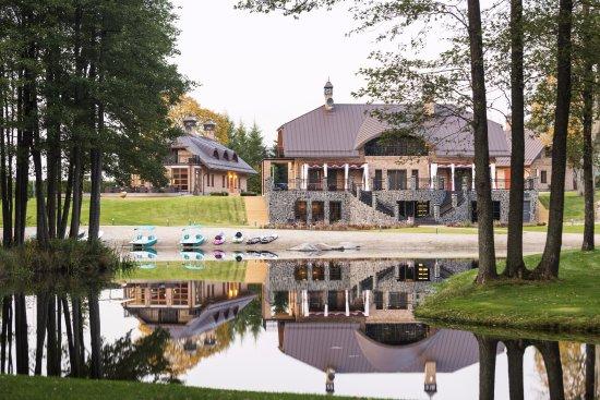 Entrance - Picture of Sala Resort Plateliai - Tripadvisor