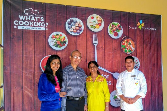 Club Mahindra Binsar Valley: With the large hearted Chef Rajpal