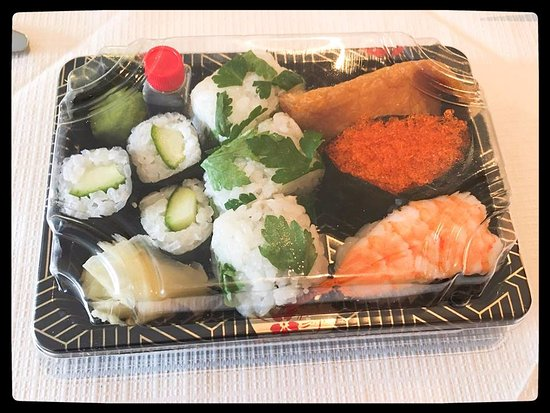 Newcastle West, Ireland: sushi
