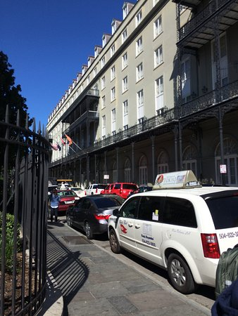 Omni Royal Orleans: Great wrought iron balcony