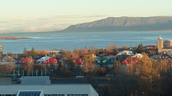 Hilton Reykjavik Nordica: Room with a view