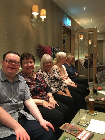 Elgin Hotel Blackpool: Some of the happy guests