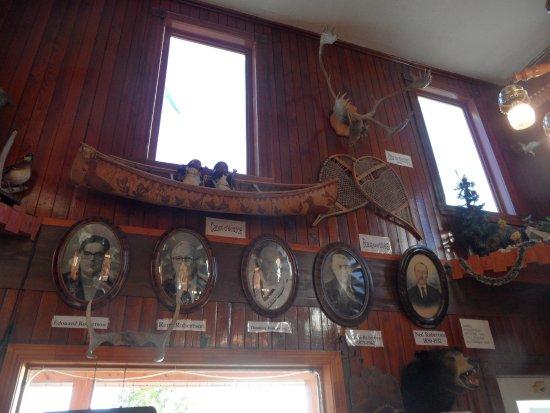 Mashteuiatsh, Kanada: Décorations dans la salle commune