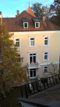 Hotel Johannisbad: Side View from our room
