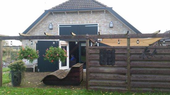 Oosterwolde, Nederland: Apt de Kraanvogel vanaf het terras
