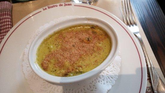 Le Bistro de Jean : Cassolette de moules et St Jacques... Une tuerie !!!