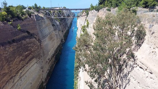 Corinth Canal Picture of Greece Athens Day Tours Athens