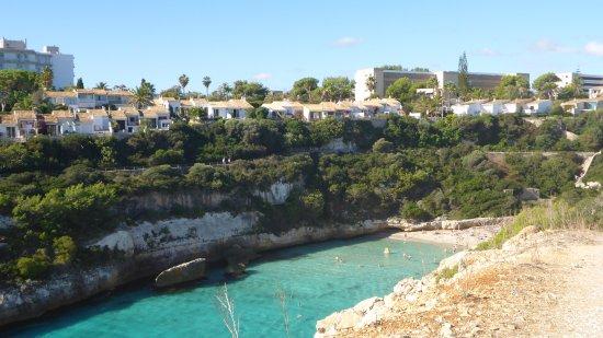 Calas de Mallorca, Spanje: eau tranquille