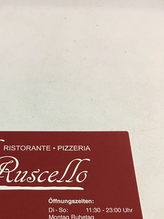 Ismaning, Germany: Ristorante-Pizzeria business card