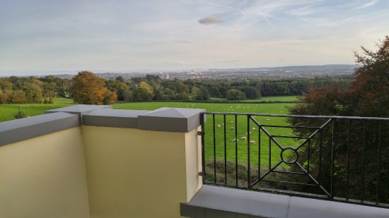 New House Country Hotel: From the balcony
