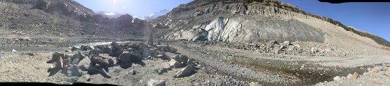 Morteratsch Glacier : Glacier Morteratsch
