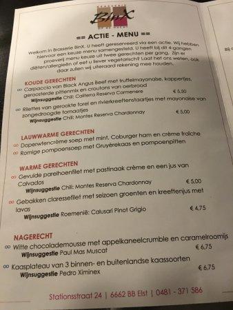 Elst, Países Bajos: De AH keuzes, net menu