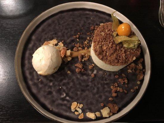 Elst, Países Bajos: Witte chocolademousse