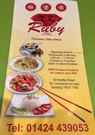 Chinese Restaurants In Hastings East Sussex