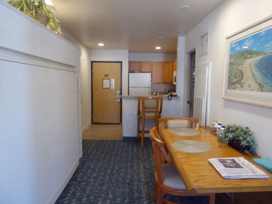 Laguna Surf: Long View Towards Kitchen (Murphy Bed For 2nd Bedroom Use)
