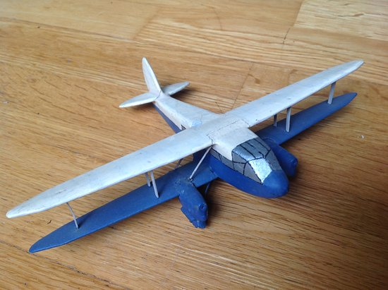 House on the Hill Toy Museum: W2 aircraft toy
