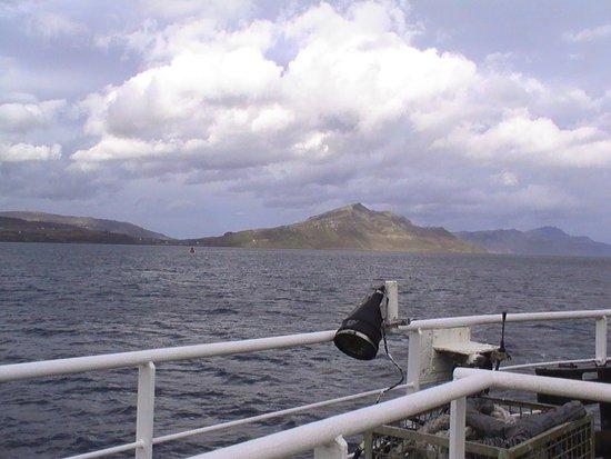 Isle of Raasay, UK: Ferry to Raasay