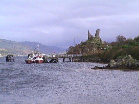 Isle of Raasay, UK: Kyleakin castle, Isle of Skye