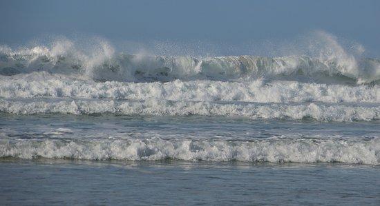 Gwithian Beach: fantastic waves!
