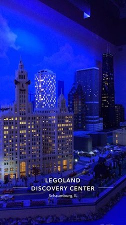 LEGOLAND Discovery Center: city of Chicago in Legos