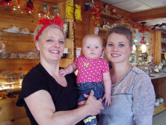 Northome, MN: Teener, her grand daughter, and daughter.