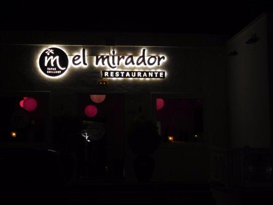 El Mirador: mooie locatie