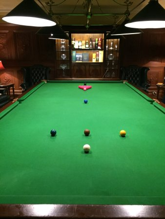 The Killarney Park Hotel: Billiards Room