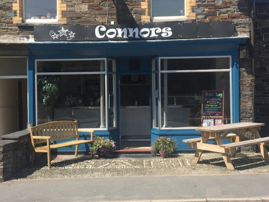 Bow Street, UK: Connors Take Away
