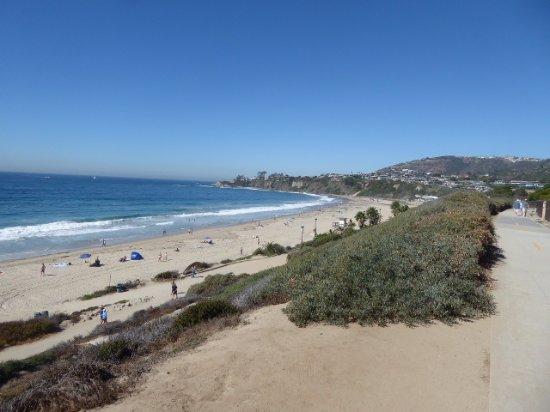 ดานาพอยต์, แคลิฟอร์เนีย: Path above the beach