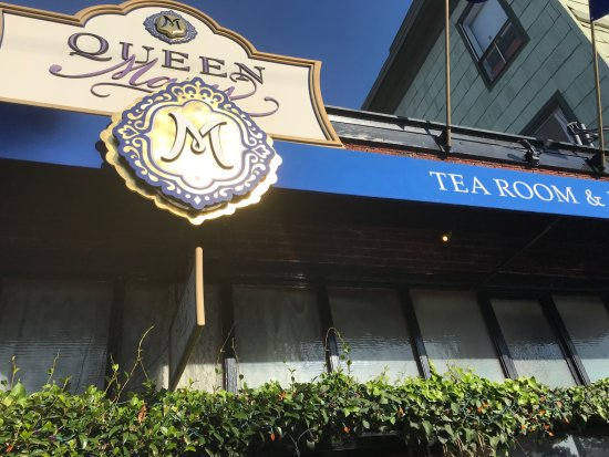 Queen Mary Tea: Outside view