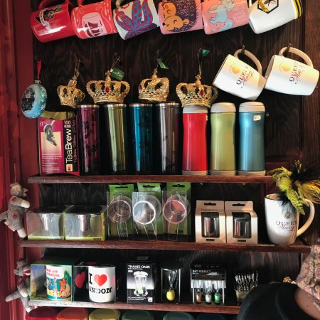 Queen Mary Tea: Fun cups for sale