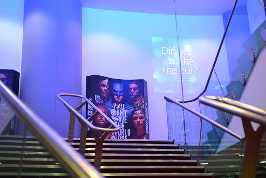 British Film Institute IMAX: Going up the stairs