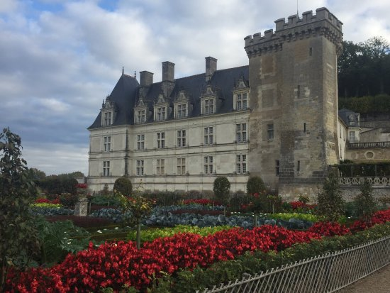 Chateau de Villandry: The Chateau from the Kitchen Gardens