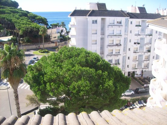 ALEGRIA Fenals Mar : view from the terrace in atic room.