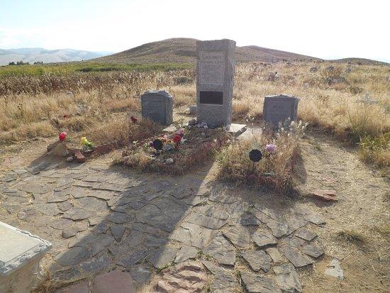 Fort Washakie, WY: Sacajawea Gravesite