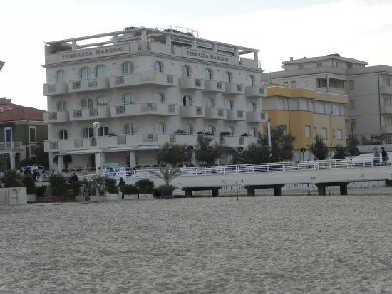 Hotel - Picture of Terrazza Marconi Hotel & SpaMarine, Senigallia ...