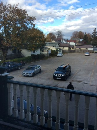The Gananoque Inn and Spa: View from room