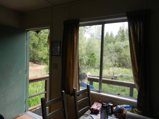 Mill Creek, Kalifornia: Cabin 7 - back porch