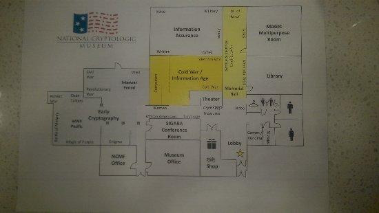 National Cryptologic Museum : Museum Layout & Exhibits